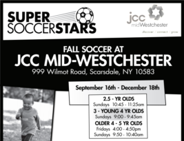 Super Soccer Stars - clinics for toddlers - 5 year olds
