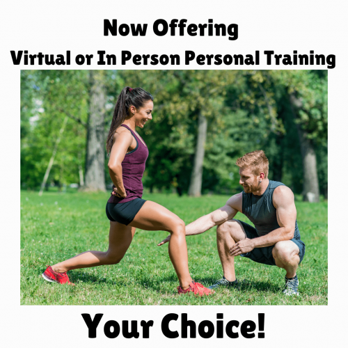 personal training apr 2021